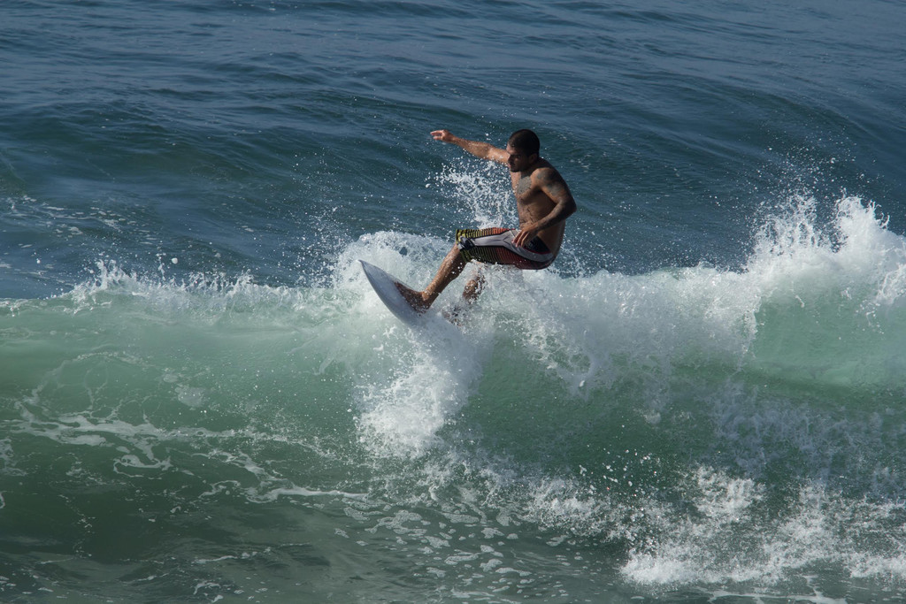 Andres Catching a Wave