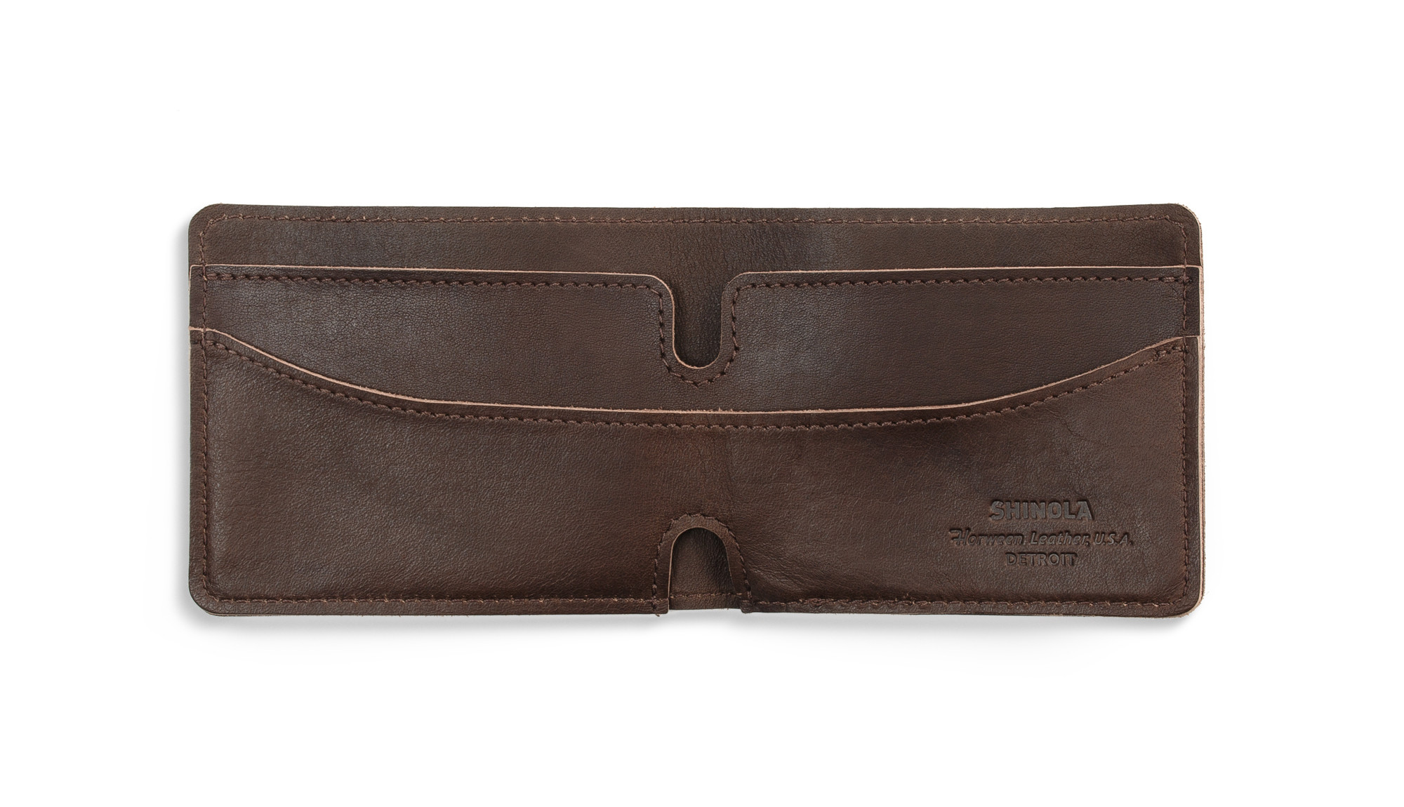 2015 Father's Day Shinola Leather Bi-Fold Wallet