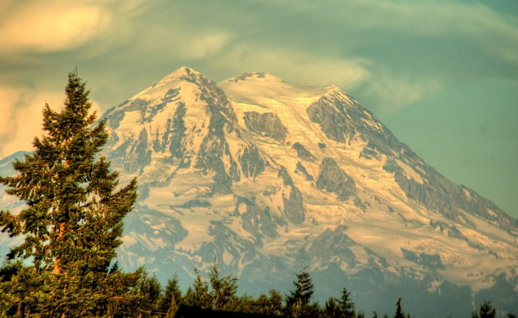 Mount Rainer Sunrise hike