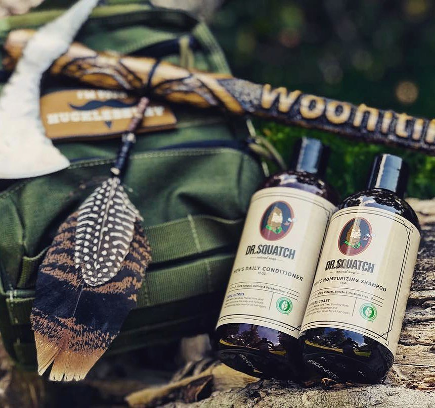 Dr. Squatch Hair Products