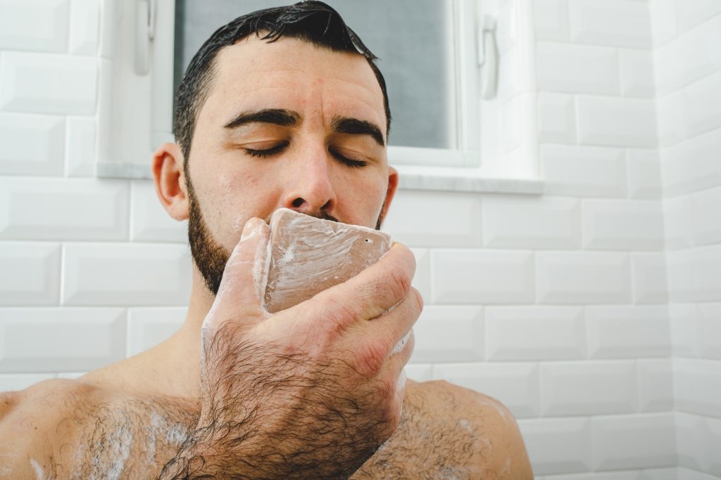 is bar soap better than body wash men