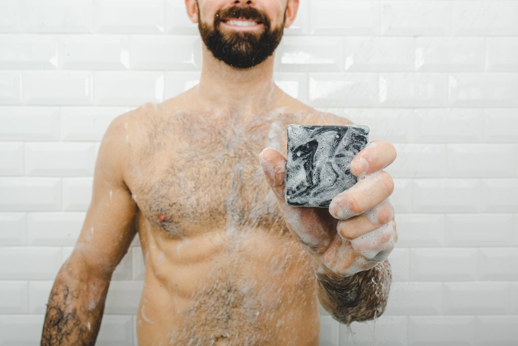 natural bar soap men