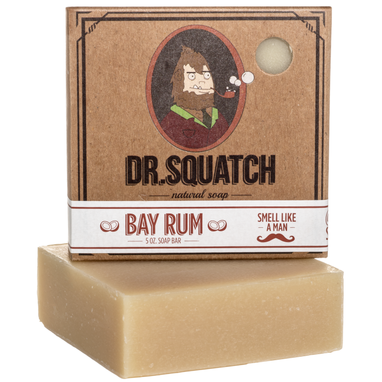 bay rum dr squatch natural soap