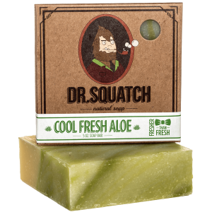 cool fresh aloe bar soap dr. squatch